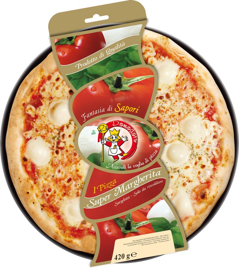 PIZZA SUPER MARGH.GR.420X8PZ RE POMODORO