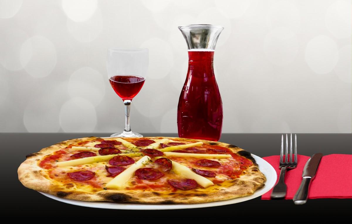 Pizze e vino come abbinarli ?